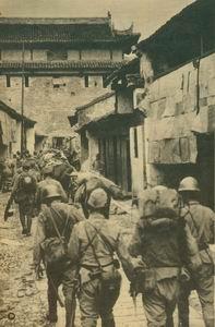 日本侵略军侵入桐城